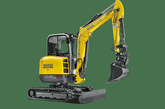 Escavatore EZ38 - Noleggio attrezzi da lavoro e macchinari da lavoro a Verona e Mantova